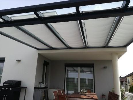 Gunstiger Sonnenschutz Fur Terrasse Mit Seilzug Zur Selbstmontage