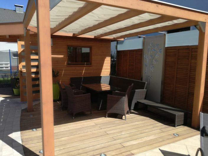 Sonnenschutz Terrasse Seilzug