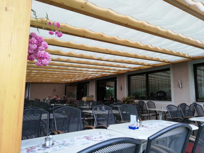 Seilmarkise Gasthaus Raabahof